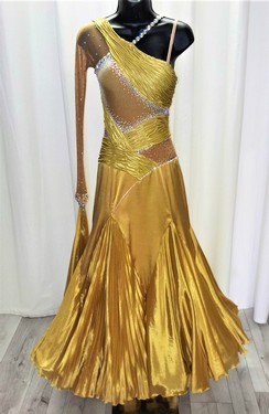 1a25c1826 CoCo's Couture - Store - Pre-Owned Ballroom Dresses - Gold ballroom ...